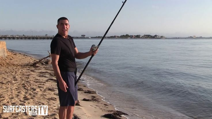 Surf Fishing Tip of the Week # 37- Holding the rod while fishing with bait