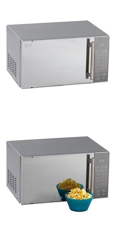 major appliances avanti 08 cu ft compact microwave oven stainless steel - Avanti Appliances