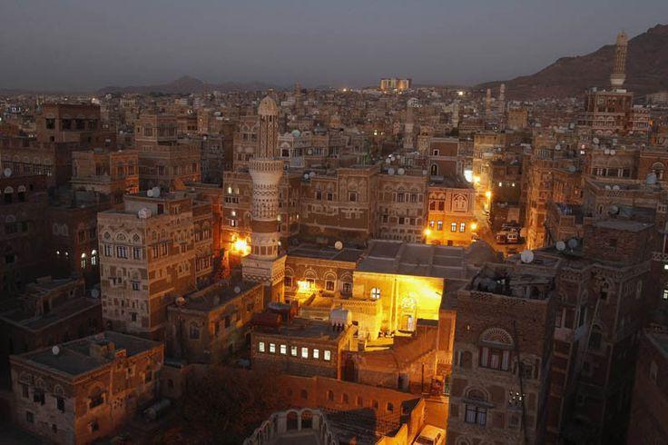 The Old City of Sana'a atNight