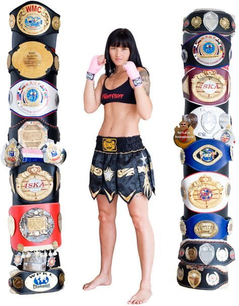 Julie Kitchen is the no.1 World ranked ladies Muaythai boxing champion from Cornwall, UK. Julie holds 13x World titles, she is a fighter, trainer, ambassador for sport and mother of twin daughters Amber and Allaya aged 12 yrs.  Watch her go beast mode while training for an upcoming fight!!