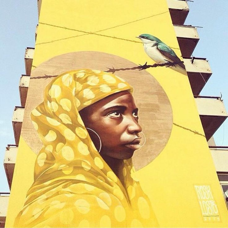 Street art - in love ~ Perfashionista
