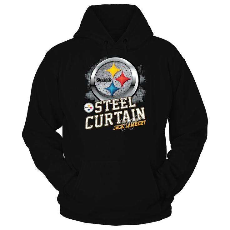 Pittsburgh Steelers - Jack Lambert - Steel Curtain