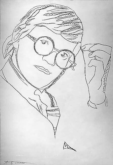 Andy Warhol (American, Pittsburgh, Pennsylvania 1928–1987 New York) David Hockney