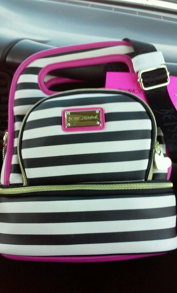 Betsey Johnson Insulated Lunch Tote