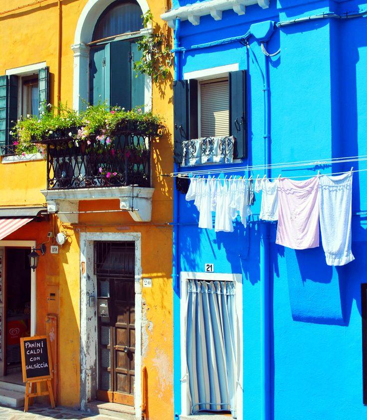 Colorful facades, Burano