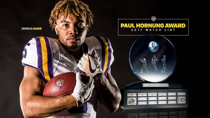 Guice Added to Paul Hornung Watch List - LSUsports.net - The Official Web Site of LSU Tigers Athletics