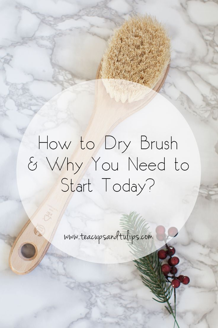 How to Dry Brush and Why You Need to Start Today