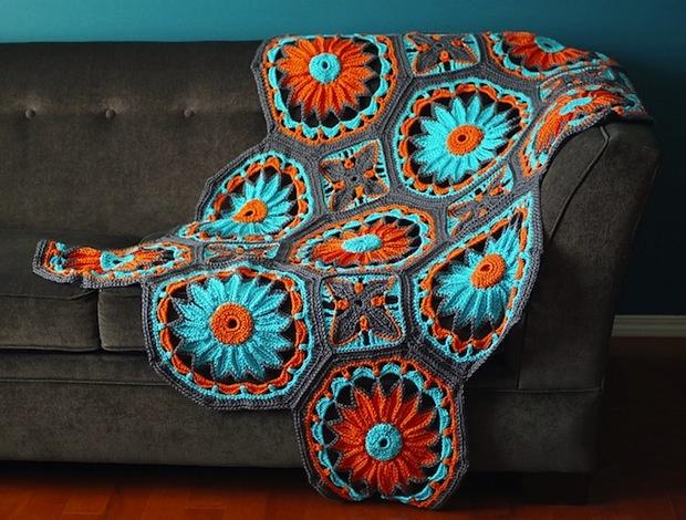 Joleen_Kraft_Crocheted_Daisy_AfghanBeautiful Daisies, Crochet Stuff, Crafts Ideas, Crochet Afghans, Crochet Daisies, Joleen Kraft, Daisies Afghans, Afghans Pattern, Diy Projects