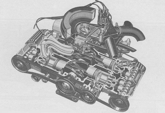 Alfa Romeo Alfasud engine