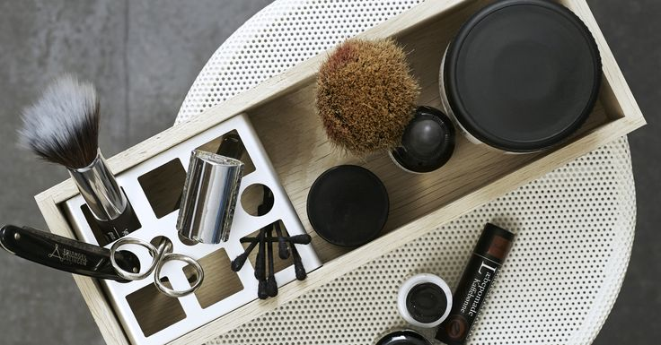 Wooden trays - perfect for your make-up.