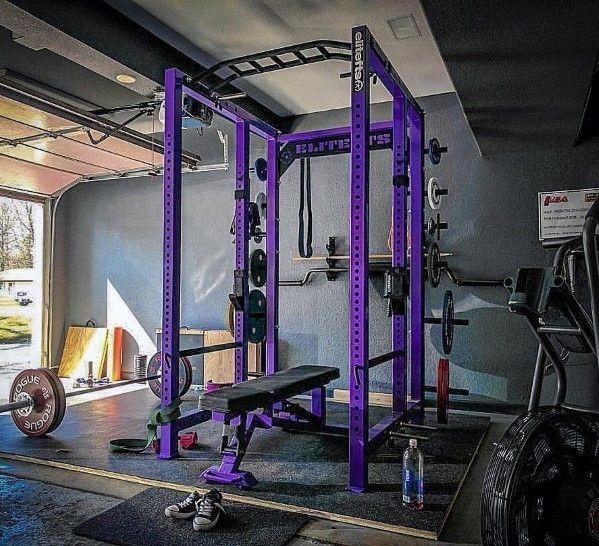 Top 75 Best Garage Gym Ideas Home Fitness Center Designs At Home Gym Garage Gym Home Gym Garage