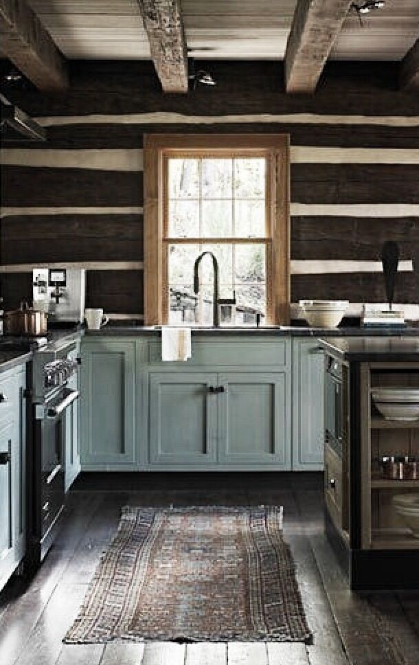 rustic kitchen pretty cabinet color kitchen dining
