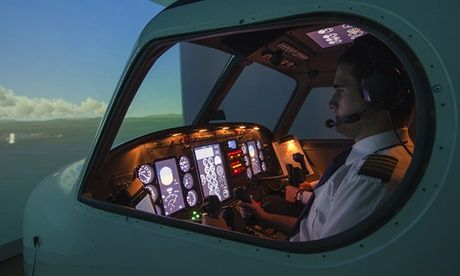 Get 30- or 60-Minute Simulator Experience or a Full Motion Simulator Experience at Bristol Flying (Up to 55% Off) 30- or 60-Minute Simulator Experience or a Full Motion Simulator Experience at Bristol Flying (Up to 55% Off)  >> BUY & SAVE Now!
