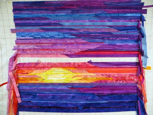 101 best Art/Landscape Quilts images on Pinterest   Landscape ... : quilting arts tv series 600 - Adamdwight.com