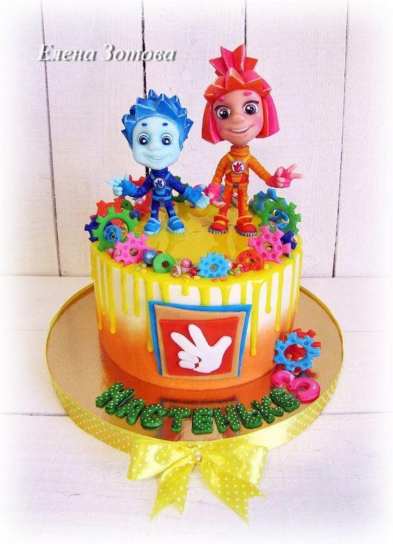 """Торт """"Фиксики"""" от пользователя «id1359307» на Babyblog.ru"""