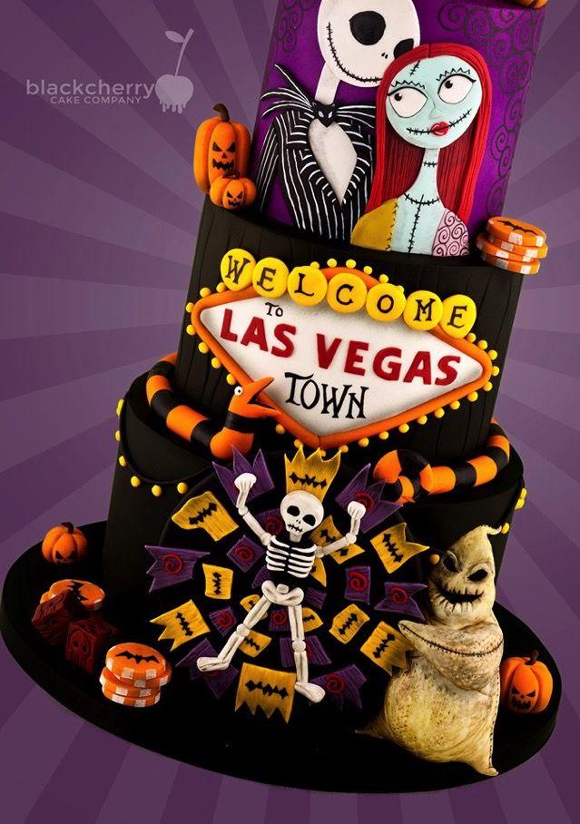 Alptraum vor Weihnachten kommt nach Las Vegas Cake   – Disney