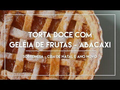 Torta Doce de Geleia Abacaxi - Especial Ceia de Natal e Ano Novo #3, confira lá no Canal do Manga com Pimenta.
