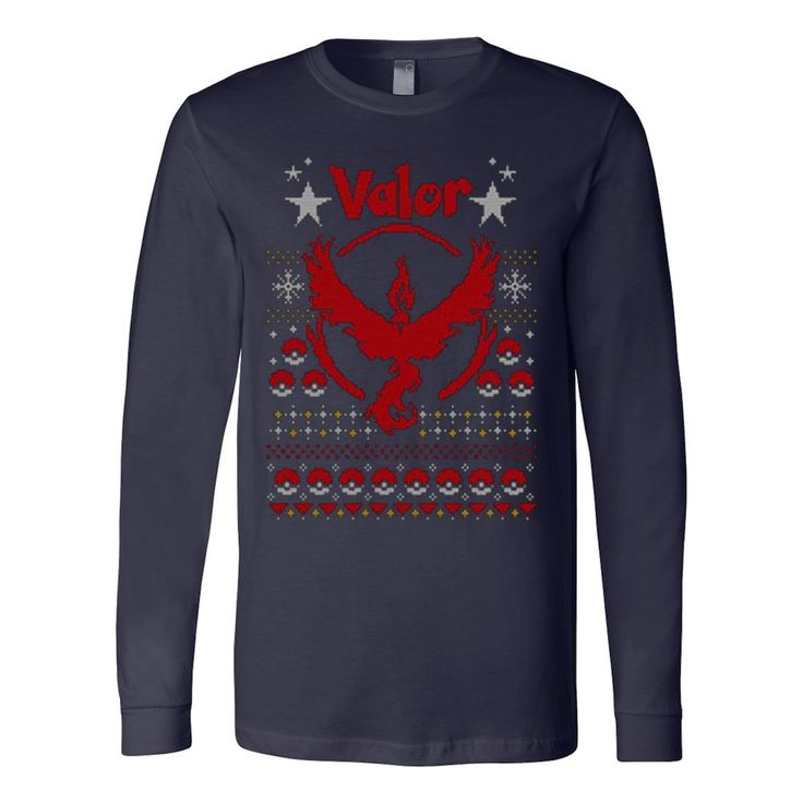 Valor Sweater Anime Manga Pokemon Go Gaming Ugly Christmas Sweatshirt