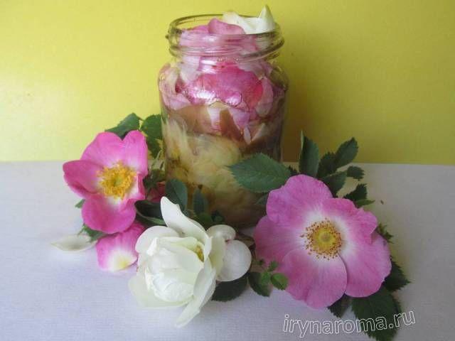 как сделать розовое масло своими руками в домашних условиях