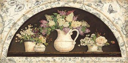 Disc-French Creamware - Lilacs (Kathryn White)