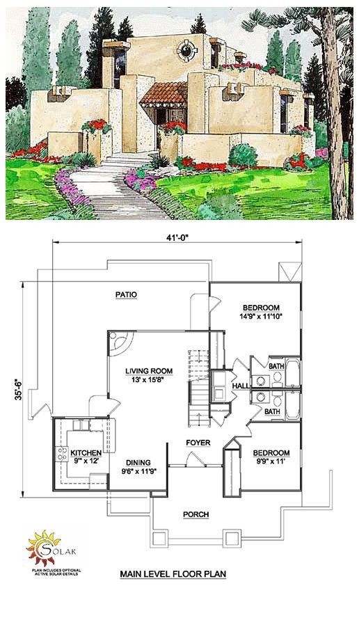 Eliminate rooms and adapt main rooms to work for the lot.