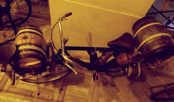 Old professions' bicycles, the COOPER one!