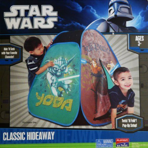 Star Wars Classic Hideaway Pop Up Tent by Playhut. $28.99. Hide 'N Seek with your favorite character!