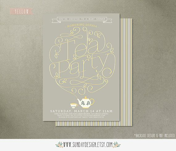 Invitation Card Bridal Shower