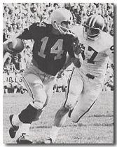 Quarterback Ed Podolak, Iowa