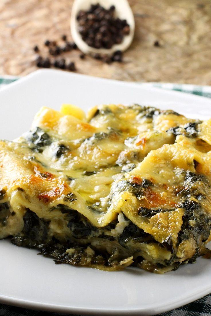 25 best ideas about chicken spinach lasagna on pinterest for Spinach chicken lasagna recipe