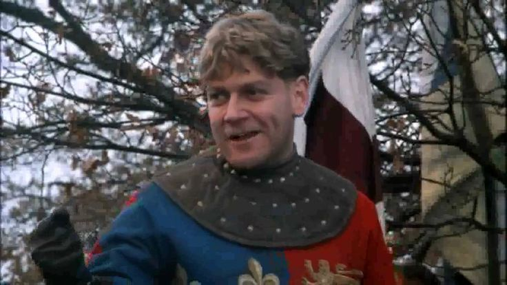 """Kenneth Branagh's stirring version of the St. Crispin speech from Henry V.   """"And Gentlemen in England now abed will count themselves accursed they were not here, and hold their manhoods cheap whilst any speaks that fought with us on St. Crispins' Day!"""