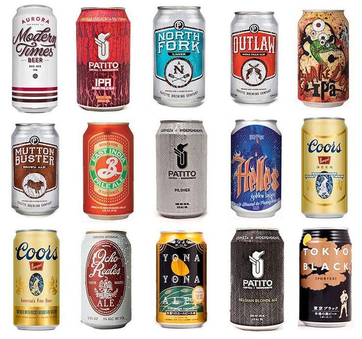 La #cerveza en lata es realmente buena? Descúbrelo hoy en oddcatrina.com (link en bio ) #Caprichos #BrebajesYAlipuses