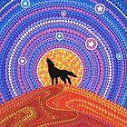 «Noche del lobo errante» de Elspeth McLean