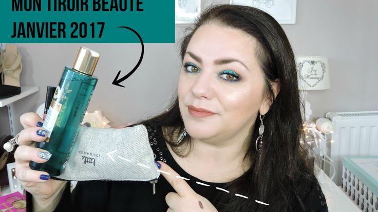 Mon tiroir beauté  janvier 2017 +concours