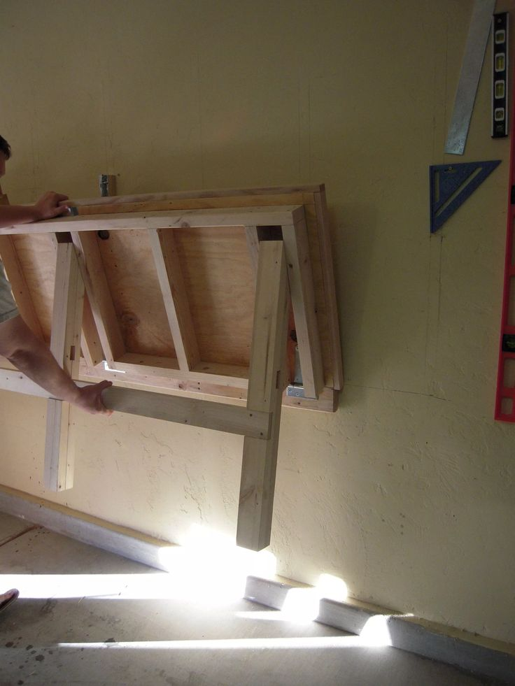 30 Best Folding Work Bench Images On Pinterest Garage