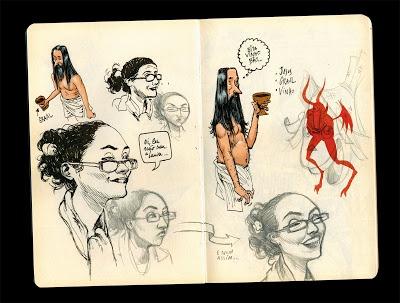 DIBURROS US: More Sketchbooks.