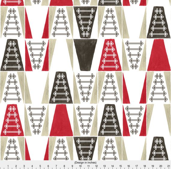 Abstract Uniform Fabric Marching Band Uniforms By by Spoonflower