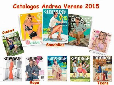 Catalogos de Andrea Verano 2015. Moda mexicana