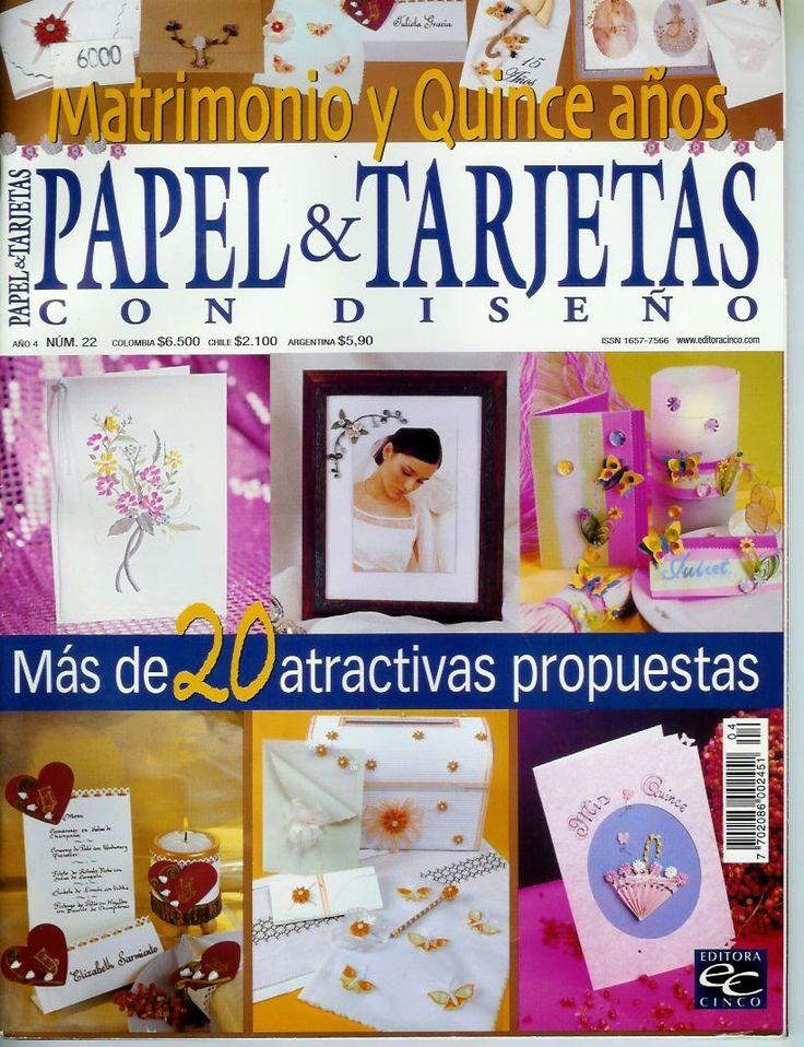 Revistas de manualidades Gratis: Como hacer invitaciones para matrimonio y quince años