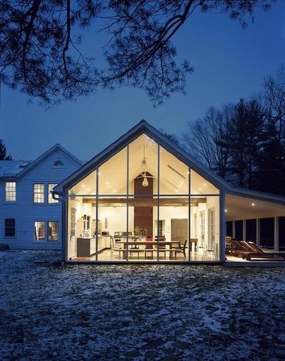 Modern farmhouse addition