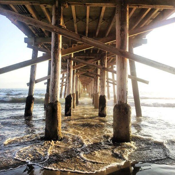 Vanishing point #Newportbeach #igerscalifornia #beach #vanishingpoint