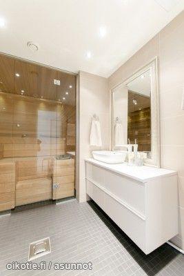 Myynnissä - Paritalo, Mankkaa, Espoo:  #kylpyhuone #oikotieasunnot #sauna