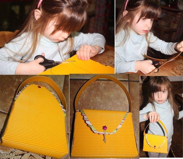 petit sac jaune
