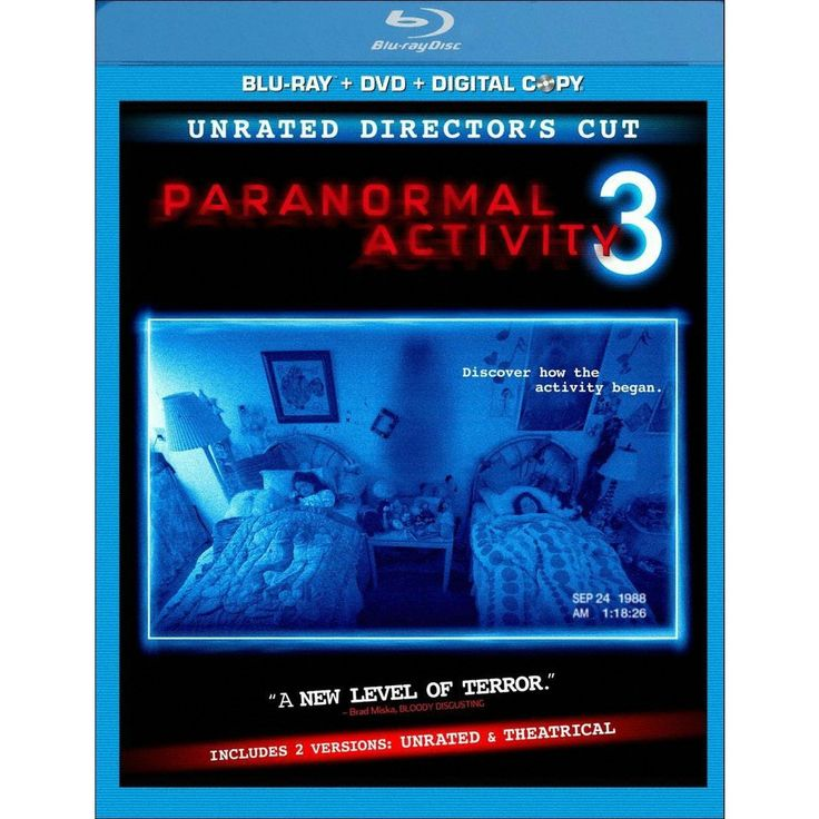 Paranormal Activity 3 [Rated/Unrated] [2 Discs] [Includes Digital Copy] [Blu-ray/DVD]