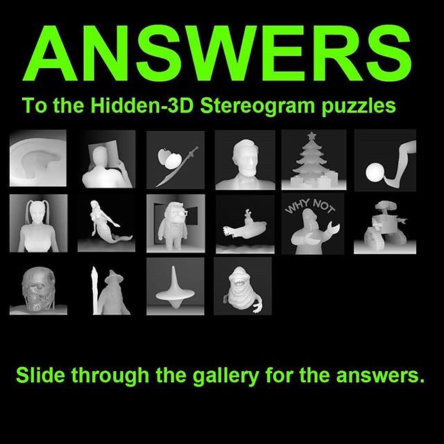3d Stereograms 3dstereogram Instagram Photos And Videos 3d Stereograms Instagram Magic Eyes