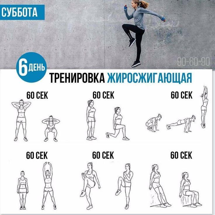 Программа для похудения на кардио тренировка