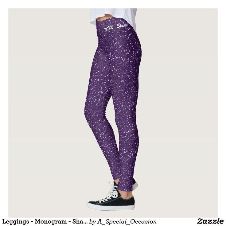 Leggings - Monogram - Sharp!