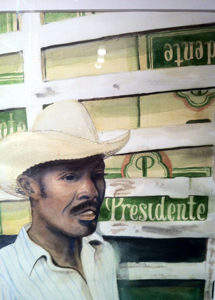 """Presidente"" by Jaeson Tanner - Water Color (Private Colletion)"