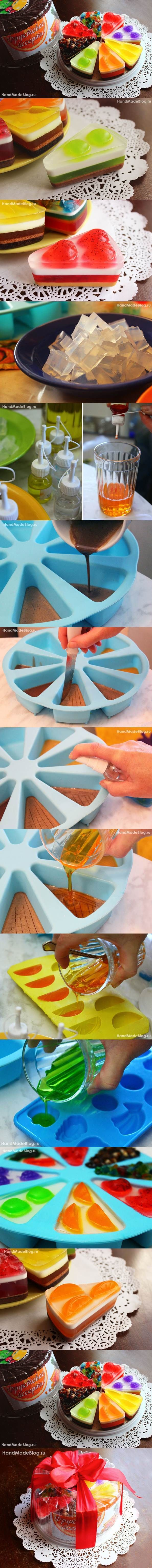DIY Beautiful Cake of Soap #craft #soap