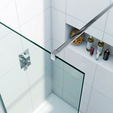 See our Luxury 8mm wet room recess panel plus many more Wetroom solutions at VictoriaPlum.com. Plus 365 day no quibble returns. - £239